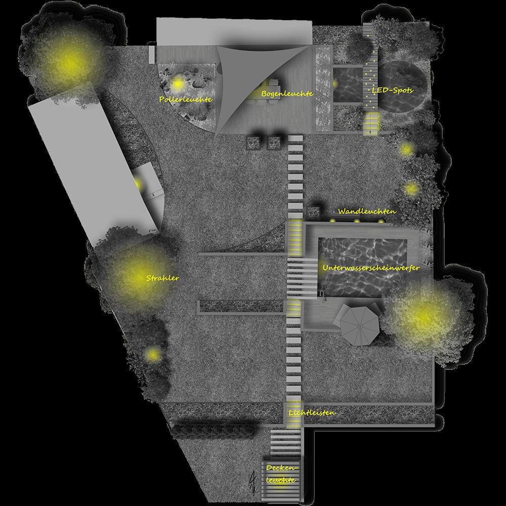 gruenmaler leistungen 5 sichtbar beleuchtungsplan neu
