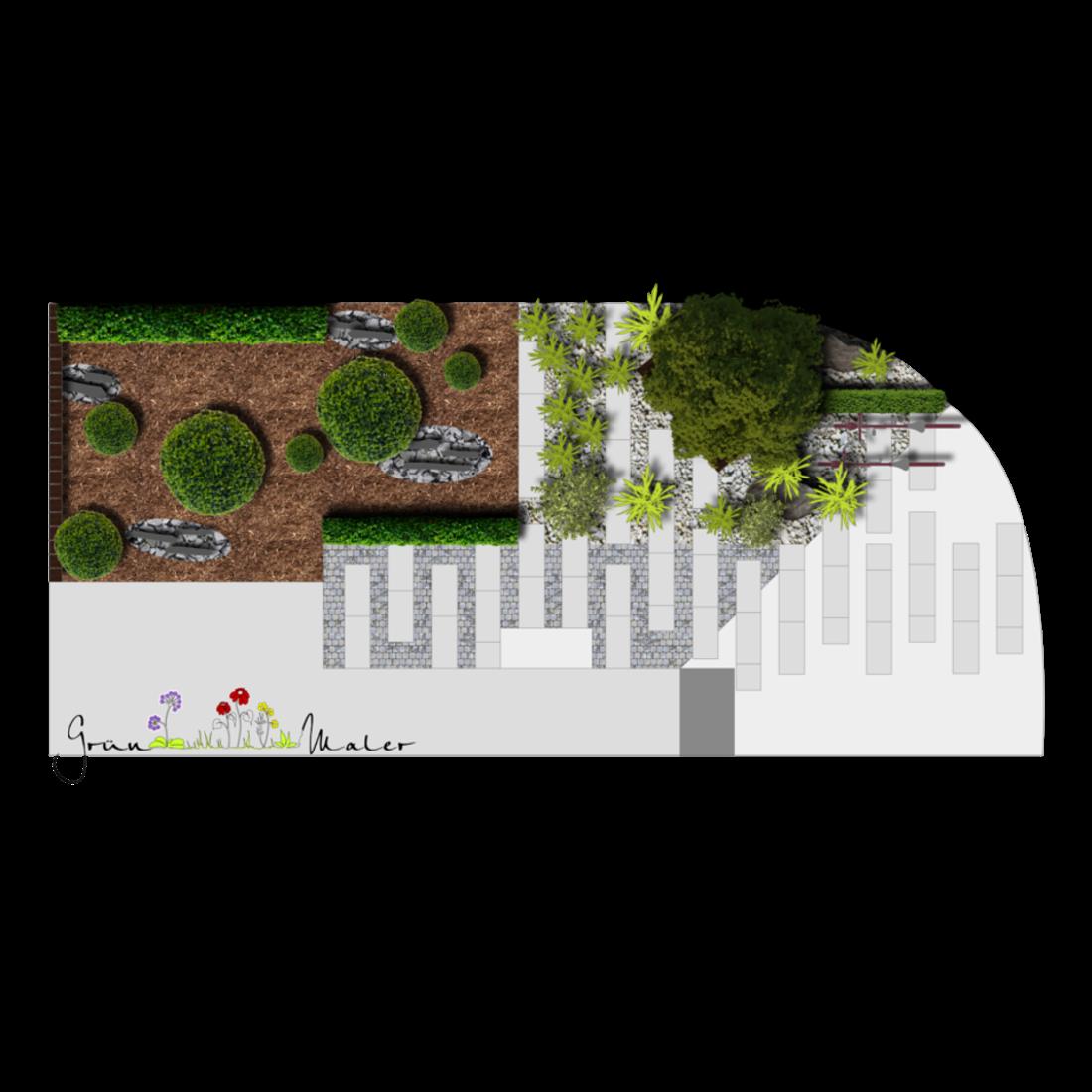 Der formale Vorgarten